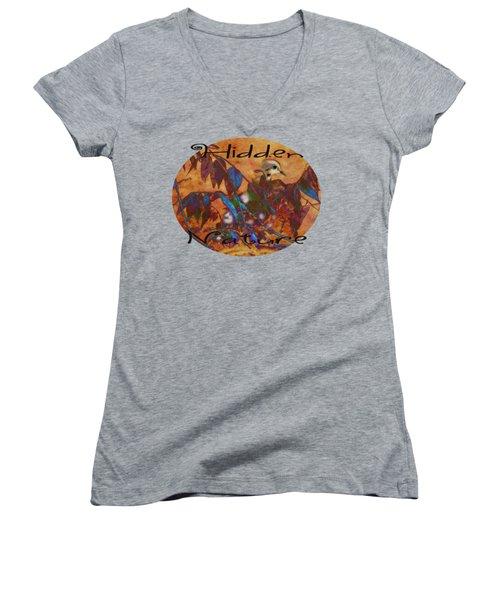Hidden Nature - Abstract Women's V-Neck T-Shirt