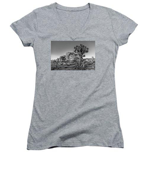 Hidden Valley Rock Women's V-Neck T-Shirt