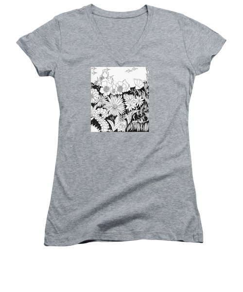 Hide And Seek Women's V-Neck T-Shirt