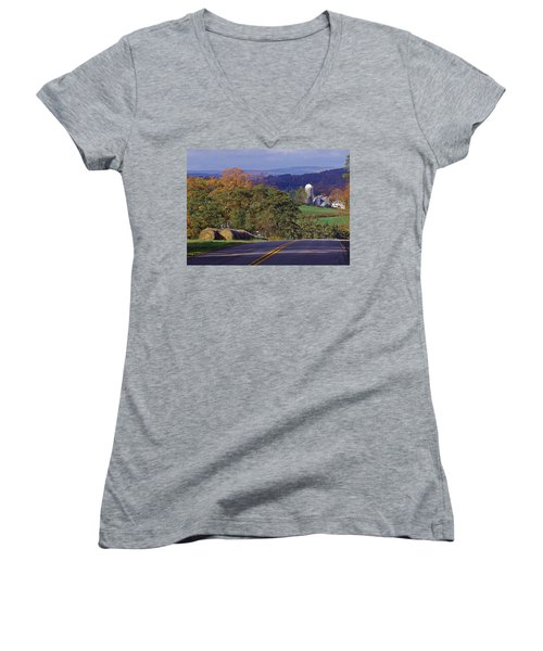 High Country Women's V-Neck T-Shirt