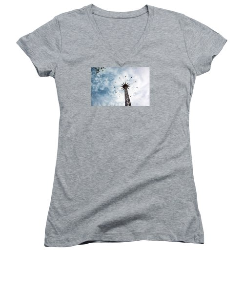 High Flying Women's V-Neck T-Shirt