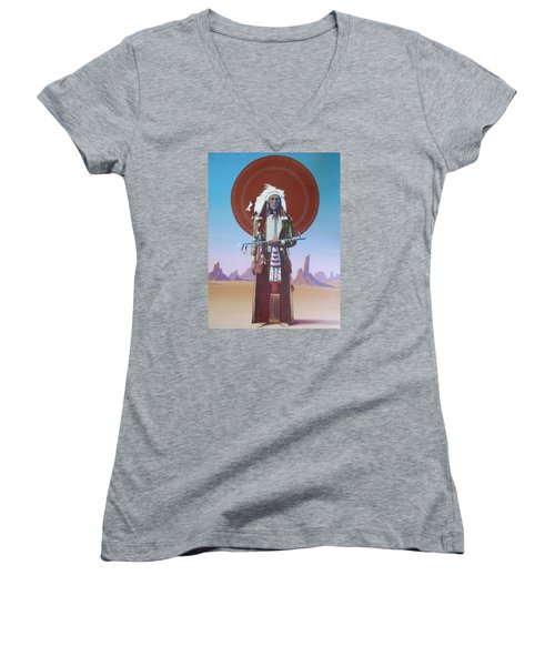 High Noon Women's V-Neck (Athletic Fit)