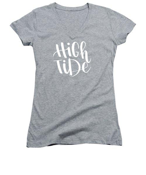 High Tide Women's V-Neck (Athletic Fit)