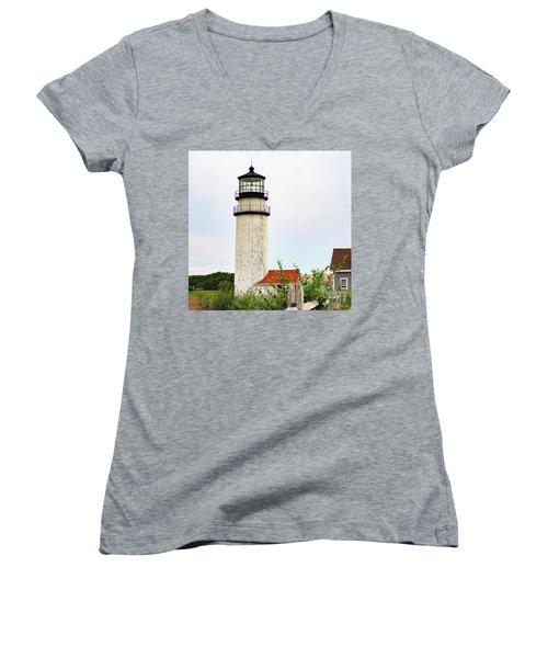 Highland Lighthouse II Women's V-Neck T-Shirt