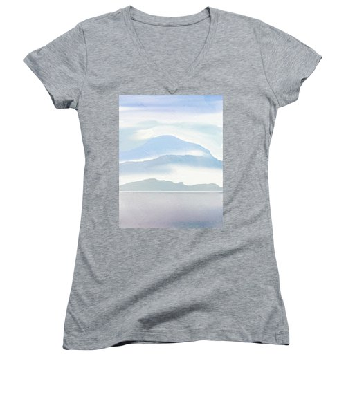 Hills In Borneo Women's V-Neck