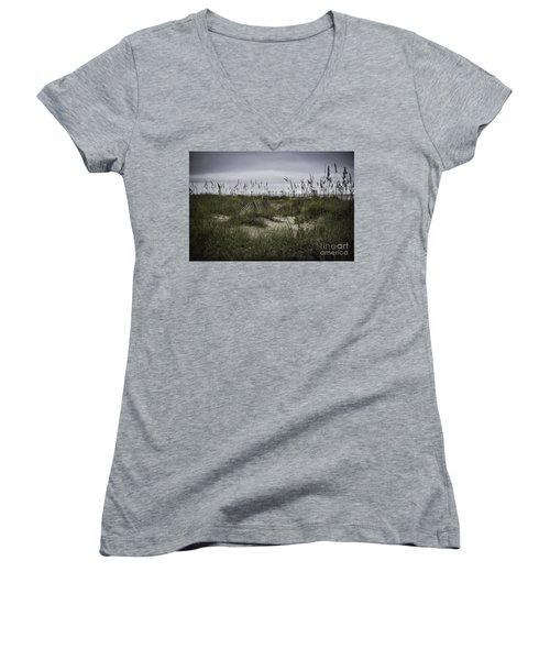 Hilton Head Women's V-Neck T-Shirt