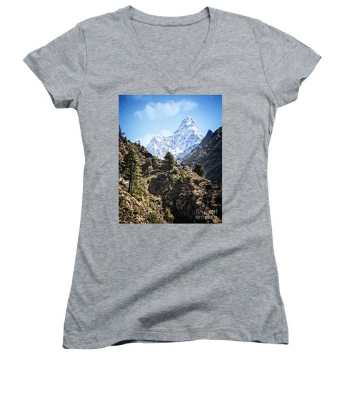 Himalaya Trail Women's V-Neck T-Shirt