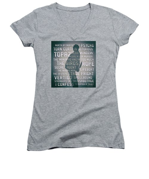 Hitchcock Women's V-Neck T-Shirt