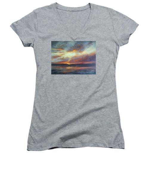 Holding On A Little Longer Women's V-Neck T-Shirt