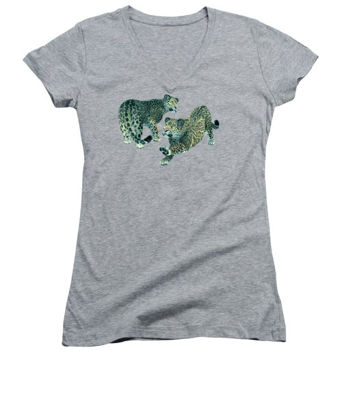 Holidays On Ice Women's V-Neck (Athletic Fit)