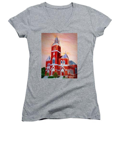 Holy Family Church Women's V-Neck