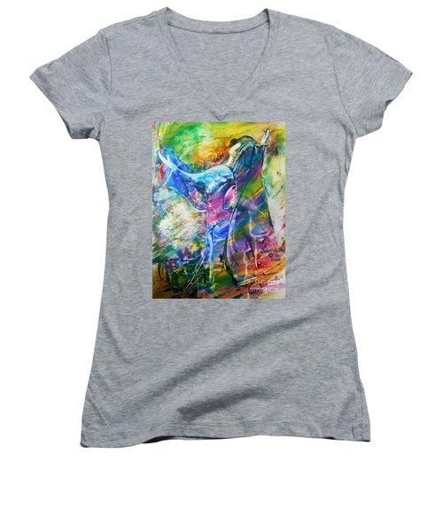 Holy Surrender Women's V-Neck T-Shirt