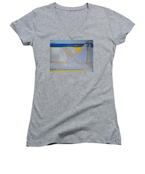 Homage To Richard Diebenkorn's Ocean Park Series  Women's V-Neck T-Shirt