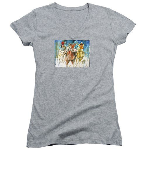Home Stretch Women's V-Neck (Athletic Fit)
