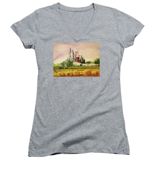 Home Town Women's V-Neck (Athletic Fit)