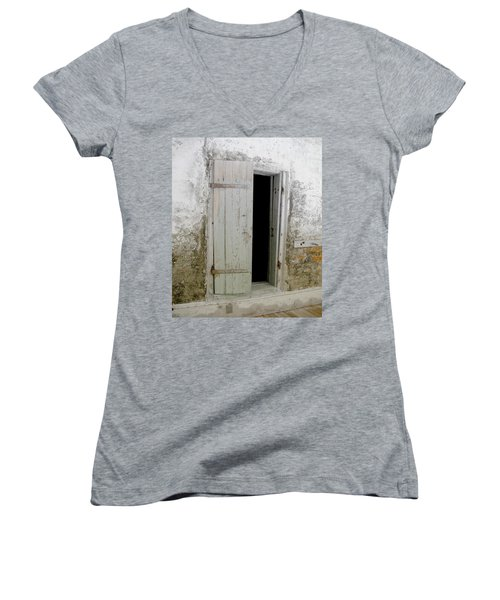 Homeplace Doorway Women's V-Neck (Athletic Fit)