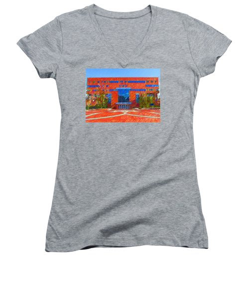 Homer Library Women's V-Neck (Athletic Fit)