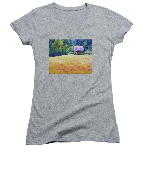 Homestead Women's V-Neck T-Shirt
