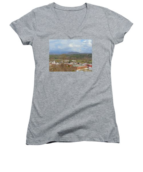 Hometown Women's V-Neck