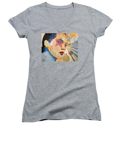 Honestly Speaking Women's V-Neck T-Shirt