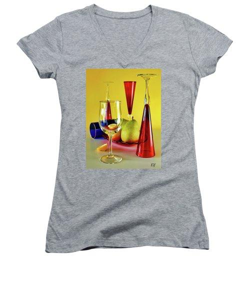 Honor To  Mondrian  Women's V-Neck