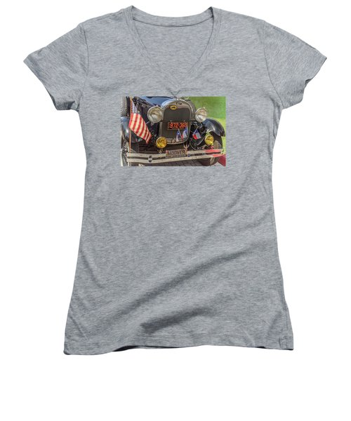 Hoover Era Ford Women's V-Neck