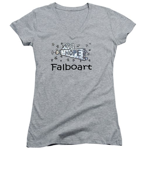 Hope T-shirt Women's V-Neck
