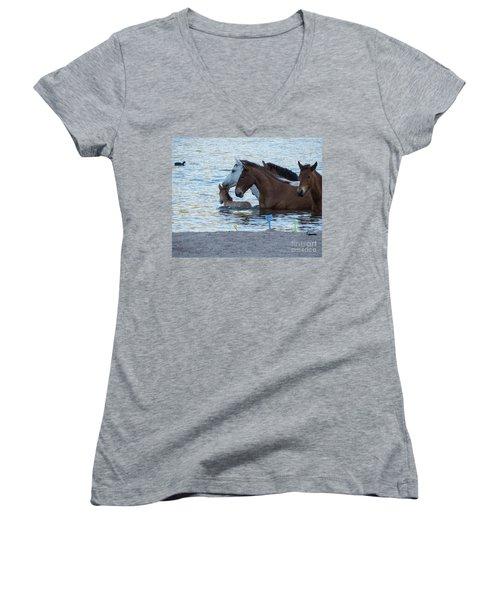 Horse 6 Women's V-Neck