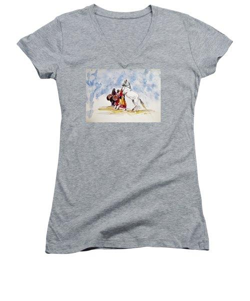 Horse Dance Women's V-Neck T-Shirt