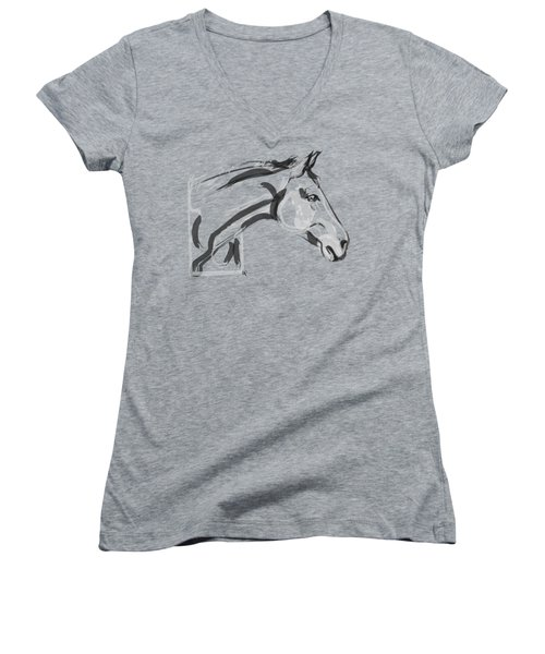 Horse - Lovely Women's V-Neck