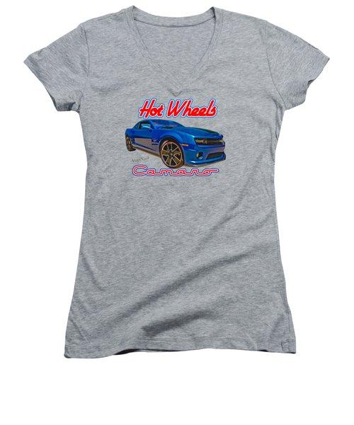 Hot Wheels Camaro Women's V-Neck