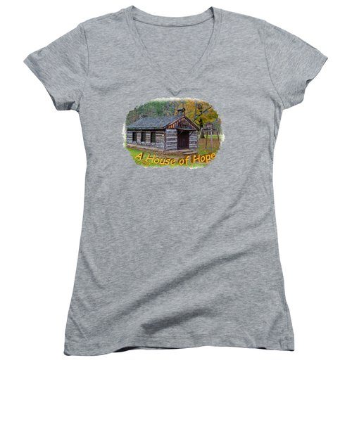 House Of Hope Women's V-Neck