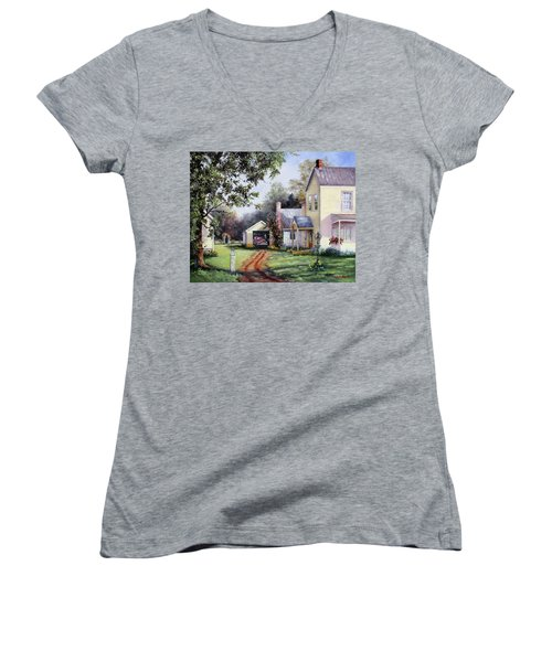 House On Bird Street Women's V-Neck