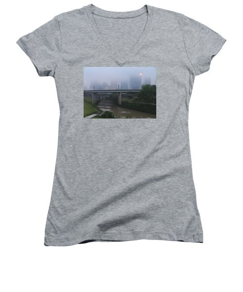 Houston Circa 2007 Women's V-Neck T-Shirt