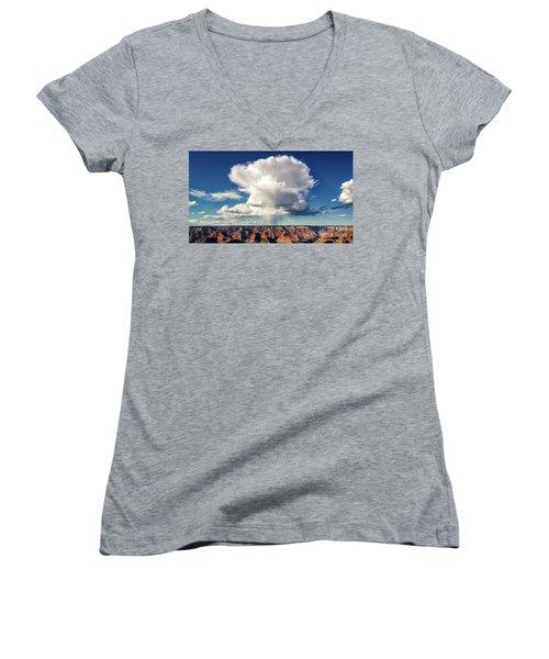 Huge Women's V-Neck T-Shirt (Junior Cut) by Giuseppe Torre