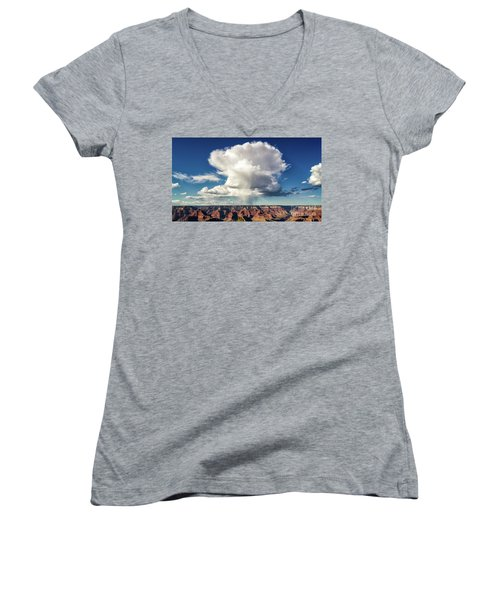 Huge Women's V-Neck T-Shirt