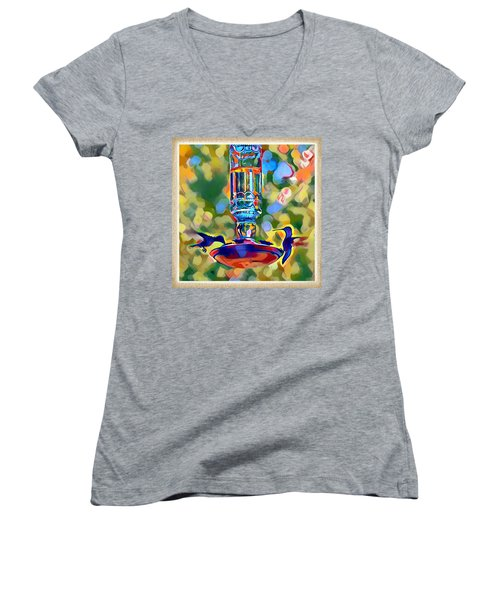 Hummers Women's V-Neck (Athletic Fit)