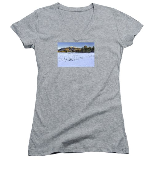 Humphreys Peak Women's V-Neck T-Shirt