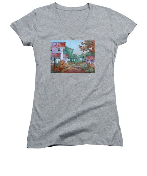 Hung Out To Dry Women's V-Neck T-Shirt