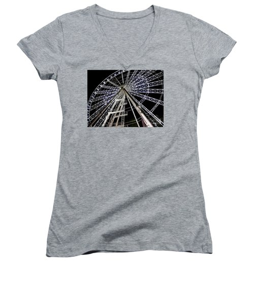 Hungarian Wheel Women's V-Neck