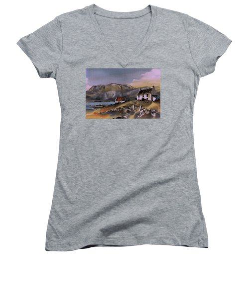 Hungry Hill Ardigole West Cork Women's V-Neck T-Shirt