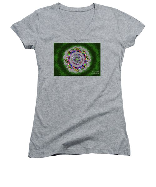 Hunted Without Tears In Their Eyes Women's V-Neck (Athletic Fit)