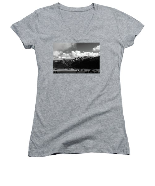 Hurricane Ridge Women's V-Neck T-Shirt