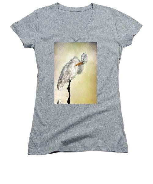 I Bow My Head Women's V-Neck T-Shirt