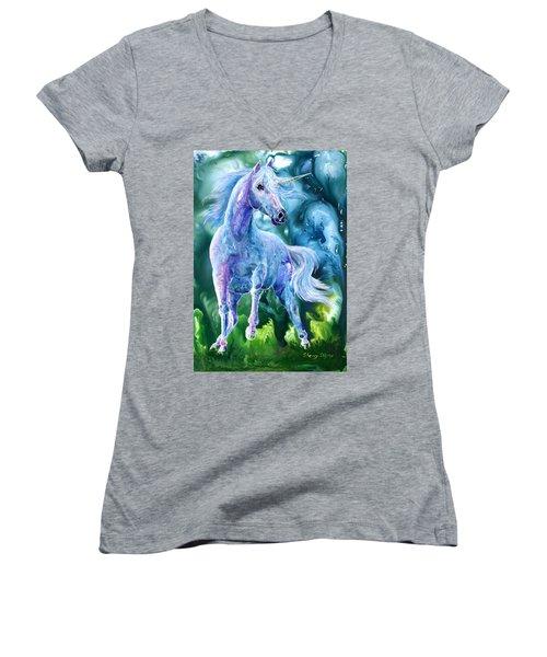 I Dream Of Unicorns Women's V-Neck
