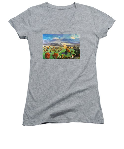I Dreamed America Women's V-Neck