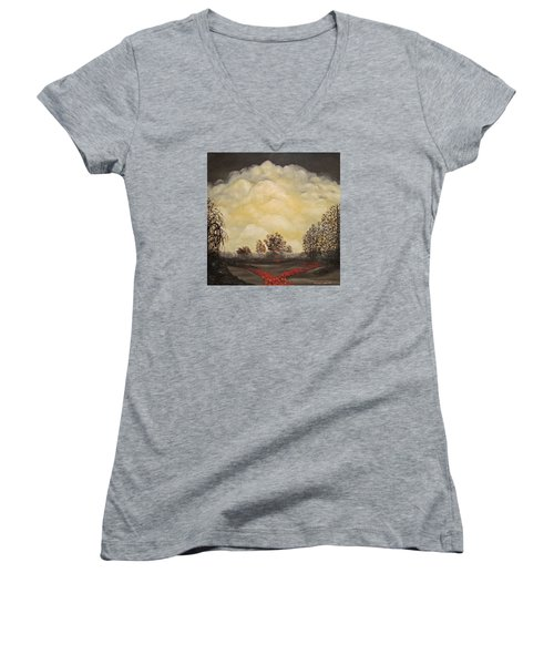 I Had A Dream Women's V-Neck T-Shirt