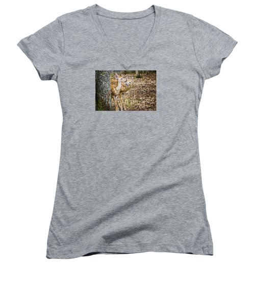I Thought You Brought The Gps Women's V-Neck T-Shirt