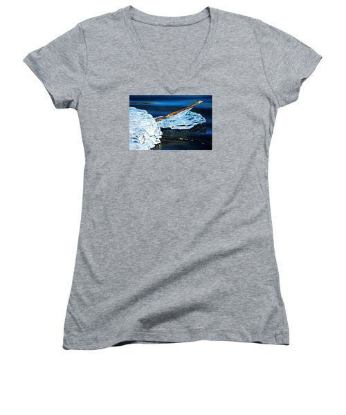 Ice Formation 12 Women's V-Neck T-Shirt