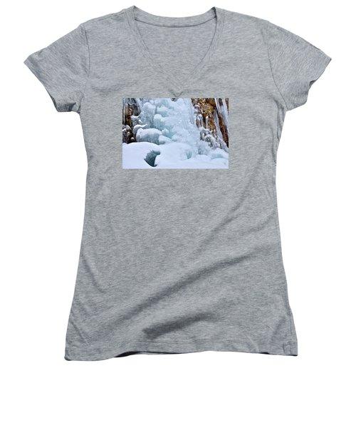 Ice Mosaic Women's V-Neck T-Shirt
